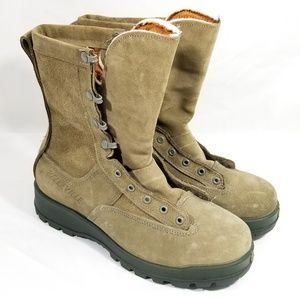 New Men's Belleville 8w Sage 675 Suede Boots